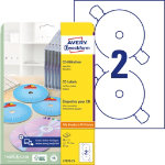 Avery CD Labels L7676 25 White 50 Labels per pack Pack 25