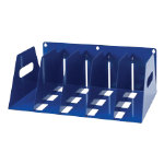 Rotadex Metal Lever Arch Filing Rack Blue