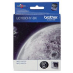 Brother LC1000 Black Printer Ink Cartridge LC1000HYBK