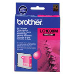 Brother LC1000 Magenta Printer Ink Cartridge LC1000M