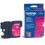 Brother LC1100M Magenta Printer Ink Cartridge