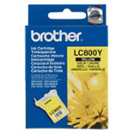 Brother LC800 Yellow Printer Ink Cartridge LC800Y