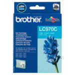 Brother LC970 Cyan Printer Ink Cartridge LC970C