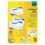 Sigel PC 225gsm Rounded Corner Business Cards for Inkjet Laser Copier High White 100 pack