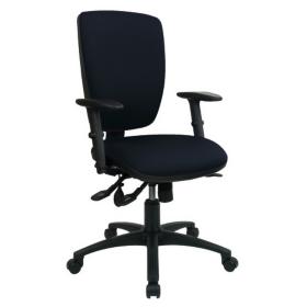 Chair Synchro Tilt Black By Viking - Viking office chair