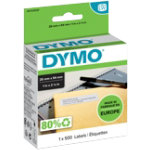 DYMO Return Address Labels 11352 25 x 54 mm White