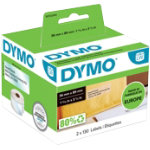 DYMO Labelwriter Labels 99013 36 x 89 mm Clear
