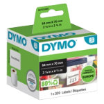 DYMO Diskette Labels 99015 54 x 70 mm White