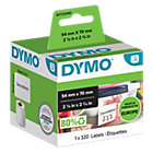 Dymo Labelwriter Diskette Labels 70 x 54 mm
