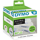 DYMO Labelwriter Labels 99017 12 x 50 White