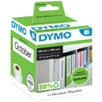 DYMO Labelwriter Labels 99019 190 x 59 mm White