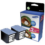 Samsung Fax M40V Black Ink Cartridge Twin Pack