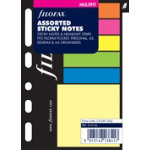 Filofax A5 Inserts Multi fit Assorted Sticky Notes organiser size 210 x 148 mm