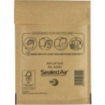 Sealed Air A 000 Mail Lite Gold Mailing Bags 160 x 110 mm Box 100