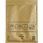 Mail Lite Mailing Bags G 4 Gold Plain Pack 50