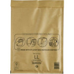 Mail Lite Mailing Bags Gold Plain Pack 50
