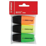 Stabilo Boss Mini Highlighters Assorted Pack of 3