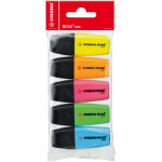 Stabilo Boss Mini Highlighters Assorted Pack of 5