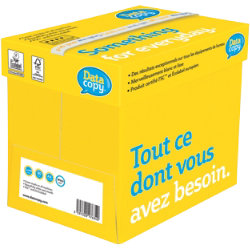 Data Copy Everyday A4 80gsm white printer paper Box of 5 500 sheet reams