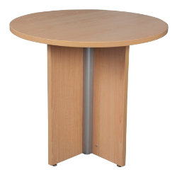 Round Table Beech 720H x 800W x 800D mm