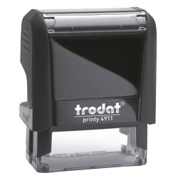 Trodat Self Inking 37 x 13mm Stamp Up to 4 Lines