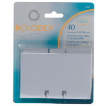 Rolodex Business Card Sleeves 57 x 101mm