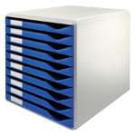 Leitz Form Set 10 Drawer Blue
