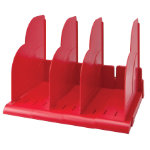 Niceday Modular Book Rack Red