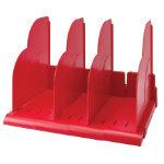 Niceday Modular Book Rack Red