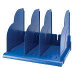 Niceday Modular Book Rack Blue