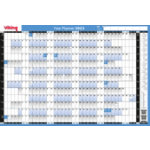 Niceday wall Planner Unmounted 610 x 851mm 2016