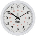 24 HOUR WALL CLOCK ND