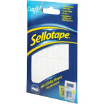 Sellotape Sticky Fixers pack of 140