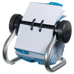 Rolodex Business Card File Chrome 200 x 145 400 Card Capacity