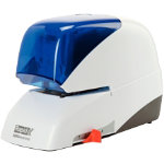 Rapid Electric Stapler Supreme 50 Sheets white blue