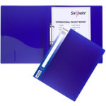 Snopake Ring Binder 13372 A4 Blue Polypropylene 335 x 4 x 24 cm