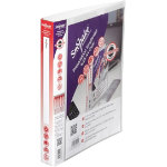 Snopake Executive presentation ring binder A4 clear