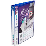 Snopake Executive presentation ring binder A4 blue