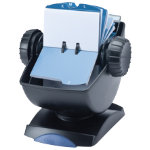 Rolodex Covered Rotary Business Card File