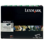Lexmark 12A7462 Black Laser Toner Cartridge