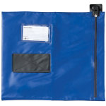 Reusable Security Mailing Blue Pouches 356 x 381 mm
