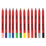 Berol Colourbroad Colouring Pens Assorted 12pk