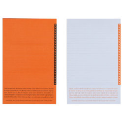 Niceday Lateral Suspension File  Papers Orange Pack of 250