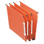 Esselte Orgarex Visicontrol Lateral Suspension Files 30mm Base 330mm Orange Box 25
