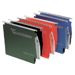 Rexel Crystalfile Extra Lateral 275 Files Standard Capacity Red Box 25