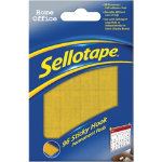 Sellotape Sticky Hook pads Pack of 96