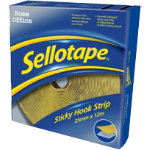 Sellotape Sticky Hook Strip 12m