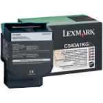 Lexmark C540A1KG Black Laser Toner Cartridge