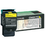 Lexmark C540A1YG Yellow Laser Toner Cartridge