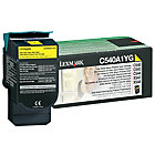 Lexmark C540A1YG Original Toner Cartridge C540A1YG Yellow